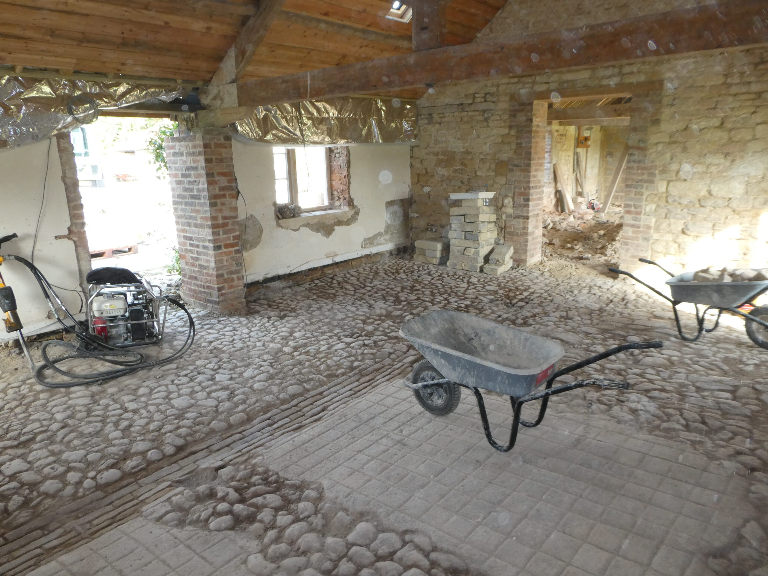 finished cobbles