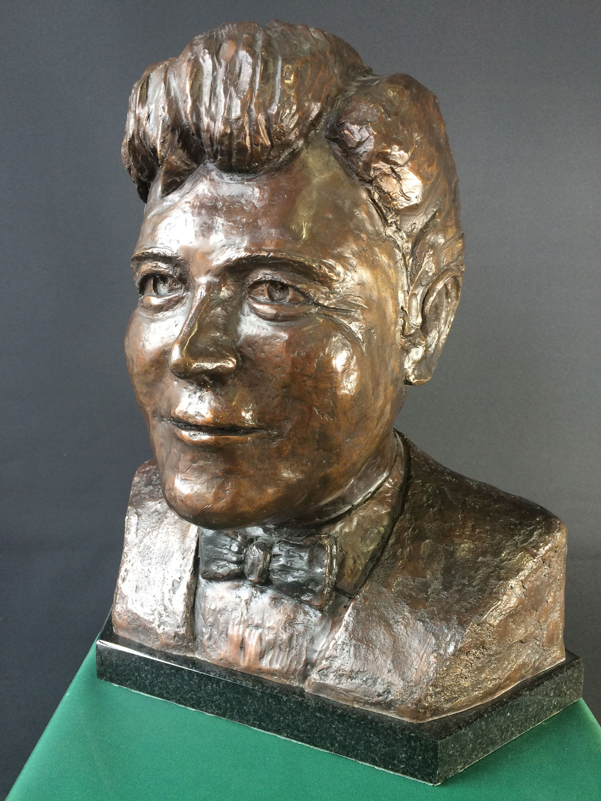 bust of 'James' by Ambrose Barber